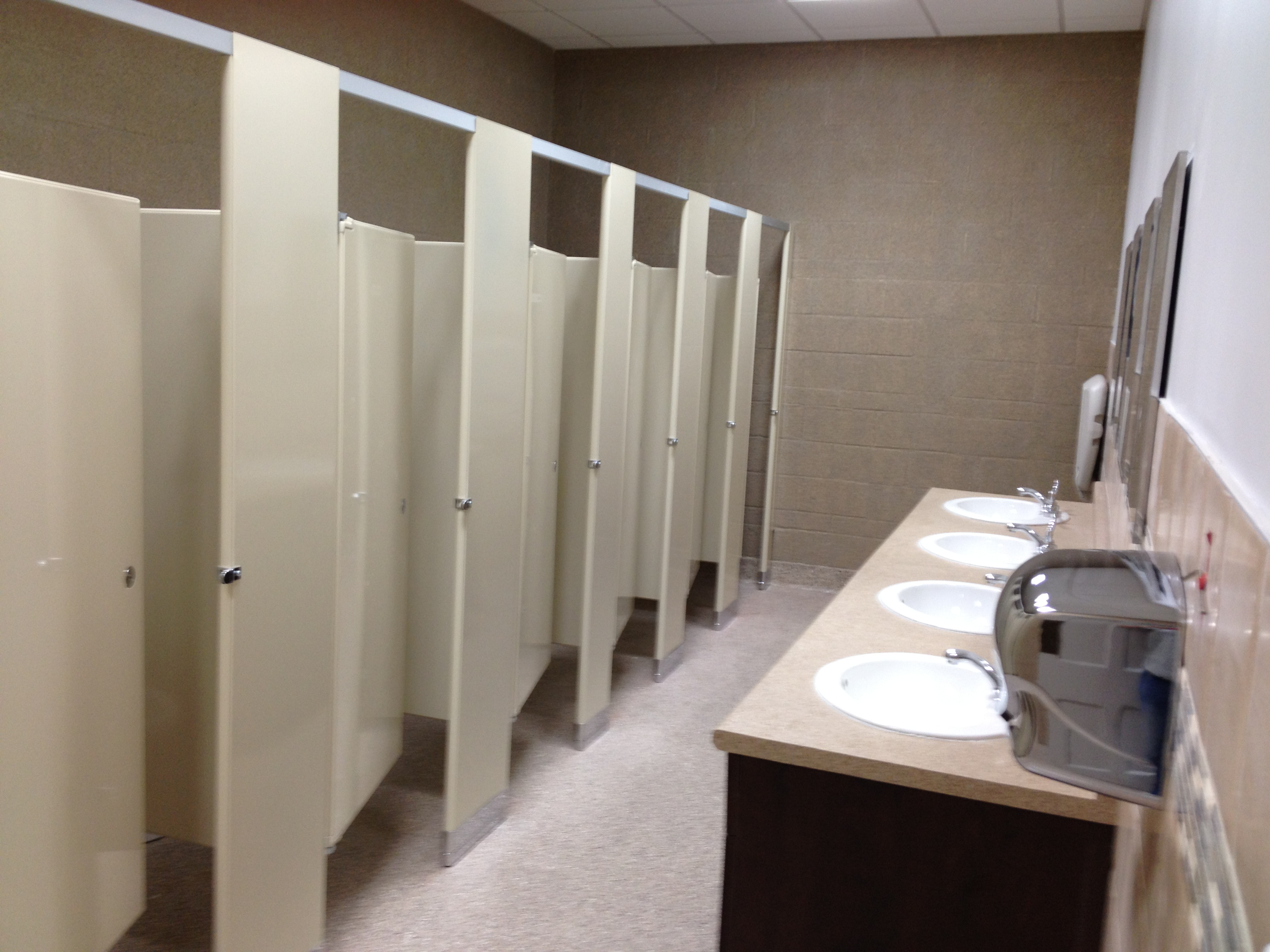 Dwf construction for Church bathroom designs